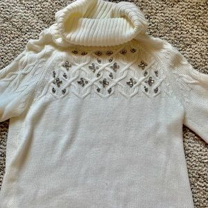 New York & Co. cowl knit sweater